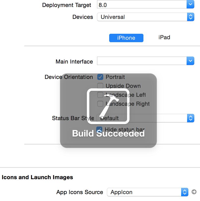 Build Succeeded!