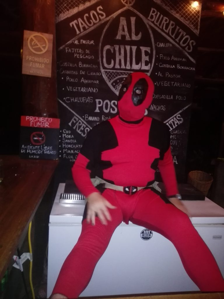 Deadpool was at the bar too